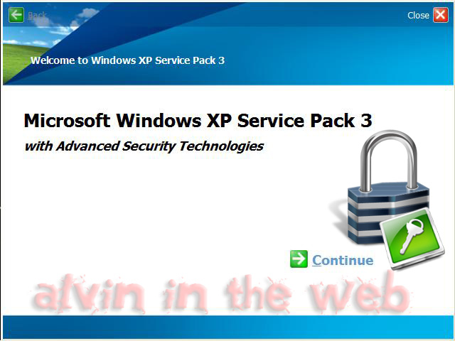 Blog archives erogonthat for Window xp service pack 3